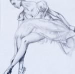 Pencil on Paper Dancer