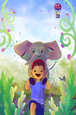 'The Flying Elephant' by Loukas Skyllouriotis