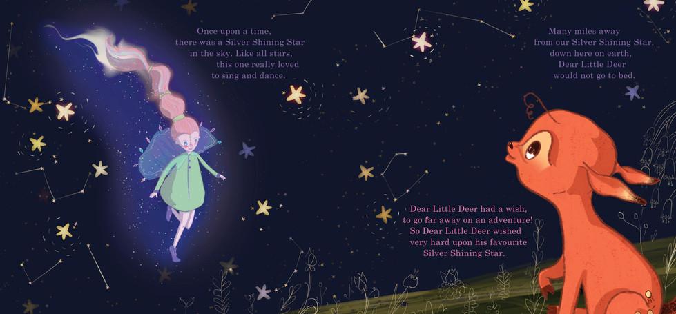 Dear Little Deer and Silver Shining Star