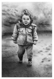 Digital Pencil Sketch Commission