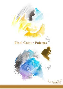Final Colour Palettes