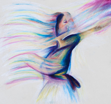 Abstracted Dancer
