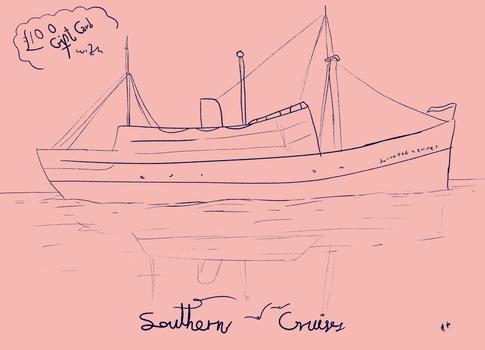 Lines - A ship
