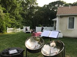 Backyard Wedding Cocktails and Dinne