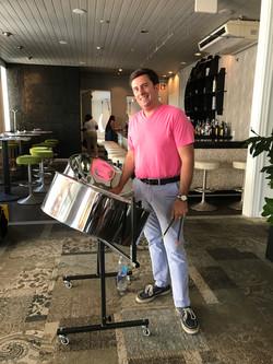 Steel Drum Brunch at Christie's,