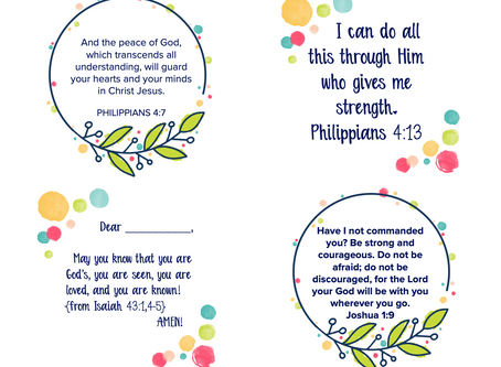 Verse Prayers for When Your Child is Worried