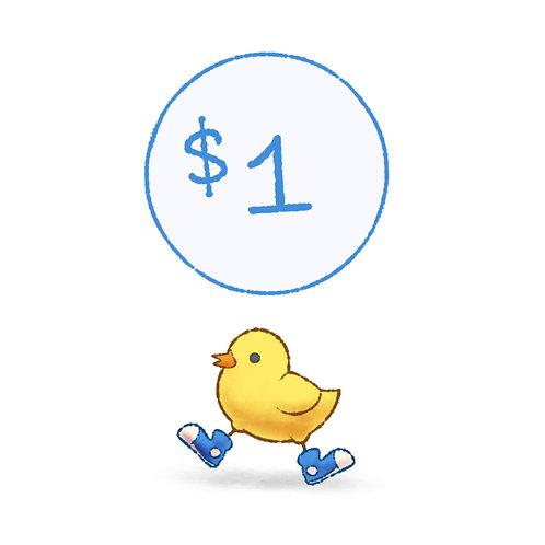 DONATION - $1.00