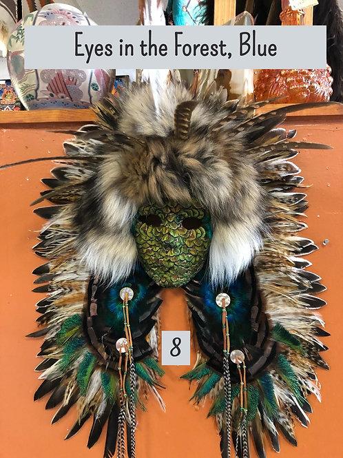 Feather Spirit Masks