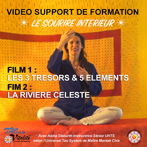 2 VIDEOS SOURIRE INTERIEUR : 3 TRESORS & RIVIERE CELESTE. Unité 20€ (AD-25%)