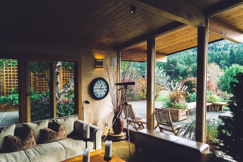 Krásná wodden dům