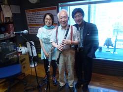 御年86歳のクラリネット奏者、 北村英治さんをお迎えしました。