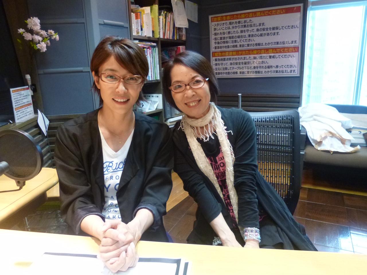 女優の 水野美紀さんをお迎えしました。