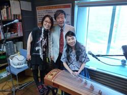 ゲスト・古箏奏者の姜小青(ジャン シャオチン)さん