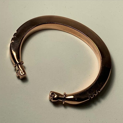 BC25  SQUARE 100% COPPER WIREFIST BRACELETS