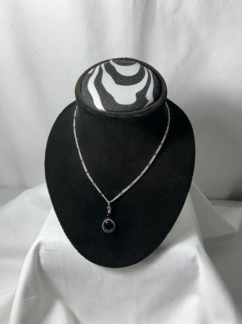 N29 Black Cat's Eye Necklace
