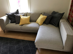 Ikea sofa North Norfolk assembled by www.norwichflatpack.co.uk
