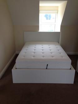 Ikea MALM ottoman bed assembled by www.norwichflatpack.co.uk