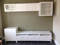 Ikea besta wall units available in different depths assembled by www.norwichflatpack.co.uk