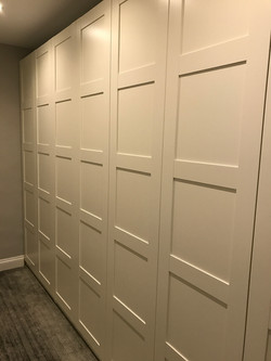Ikea Pax wardrobes with Hemnes panel doors assembled by www.norwichflatpack.co.uk