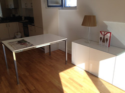 Ikea besta units and Torsby table assembled by www.norwichflatpack.co.uk