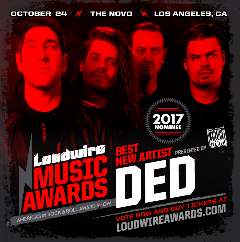 Ded - Loudwire Music Awards Custom Graphic