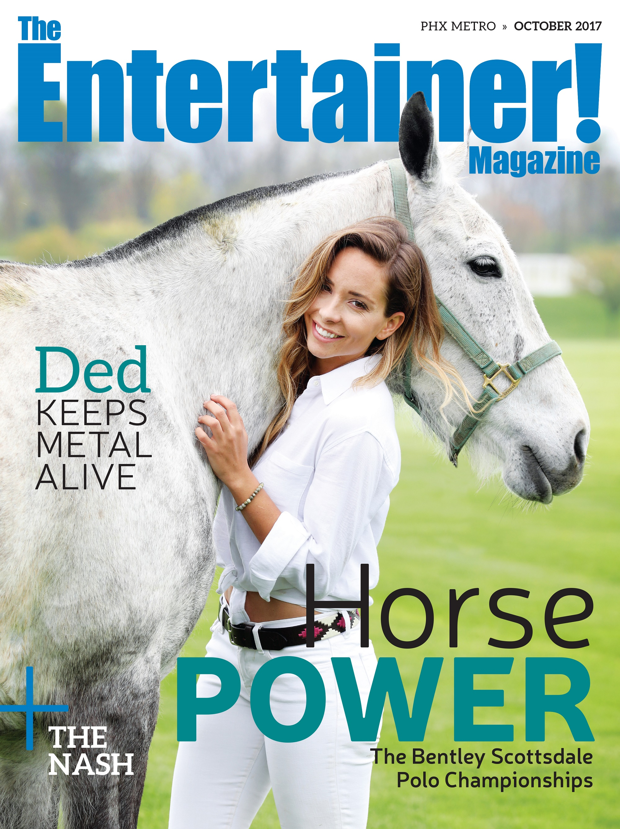 The Entertainer Magazine Cover - Ded - Oct. 2017a