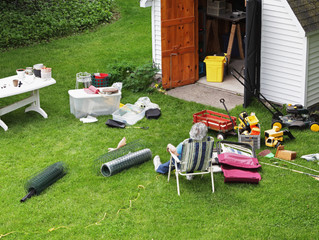 Shed Clear Out: What to do with Last Year's Lawn Products?