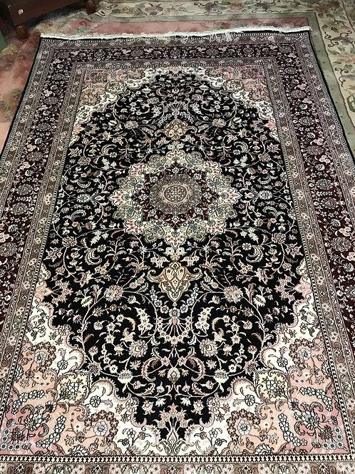 Oriental design Chinese Silk & Wool