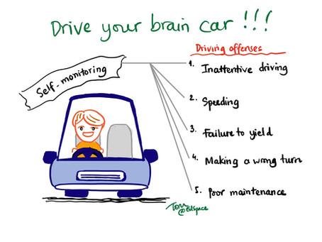 """""""Lái não"""" của bạn như lái xe chuyên nghiệp!"""