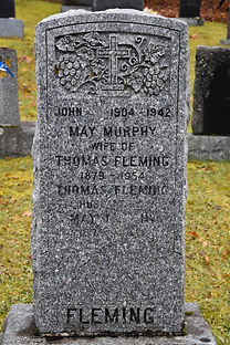 One of the tombstones from Ste-Brigitte-de-Laval