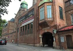 fasade mot Thorvald Meyers gate