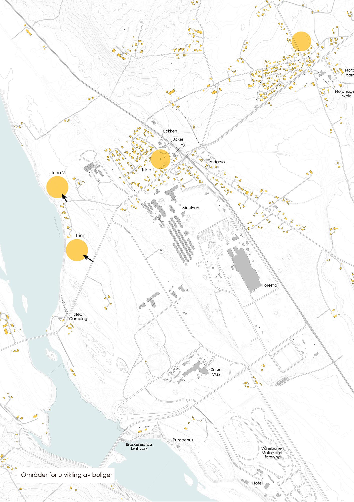 områder for boligutvikling
