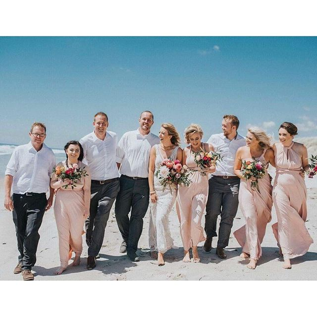 #wedding #bride #bridalparty #taurangamakeupartist #bayofplenty #makeupartist #mua #beachlife #beach