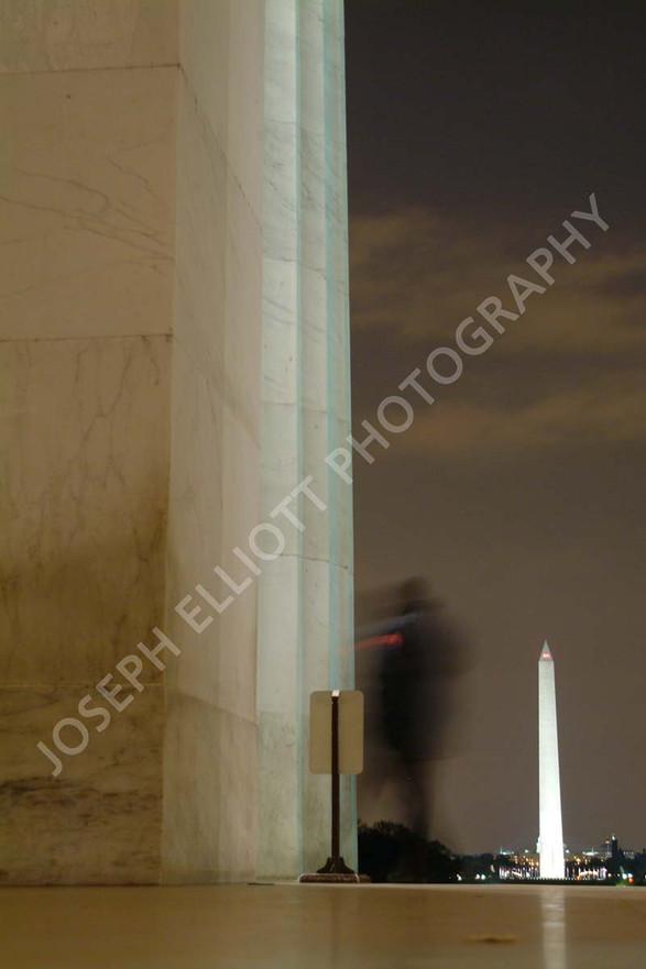 Evening Tourist Washington DC
