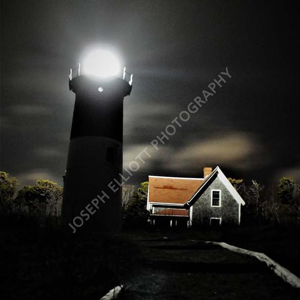 Cape Cod Night Lighthouse