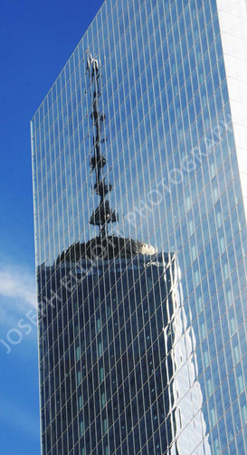 Freedom Tower Reflection NYC