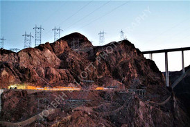 Hoover Dam Twilight