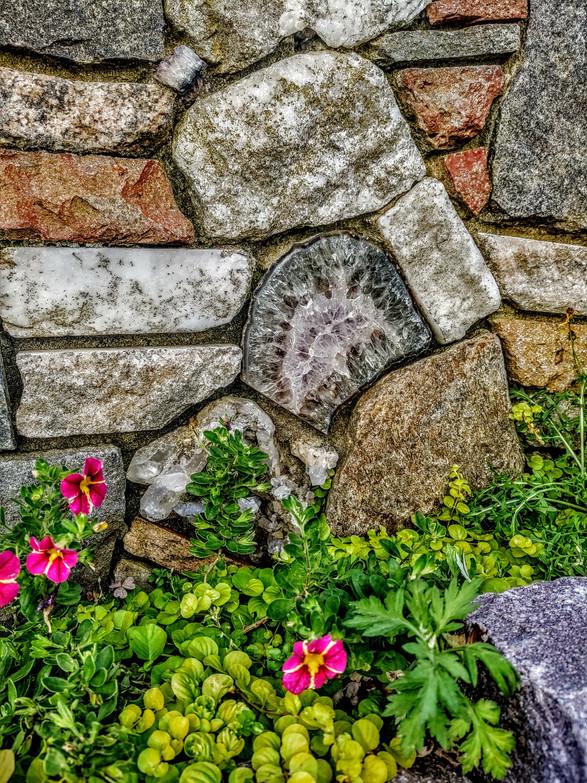 Rock, floral