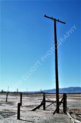 Isolated Salton Sea CA