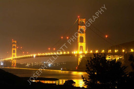 Golden Gate Bridge Night
