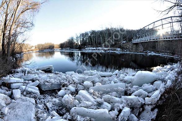 Ice River Blocks