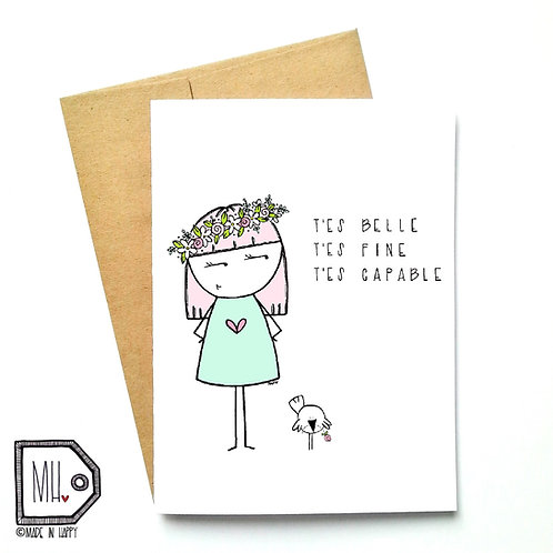 Belle Fine Capable