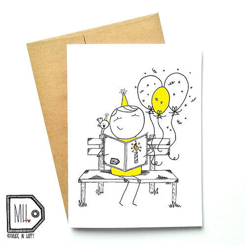 Banc et ballons / Birthday bench