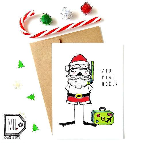 Père Noël vacances