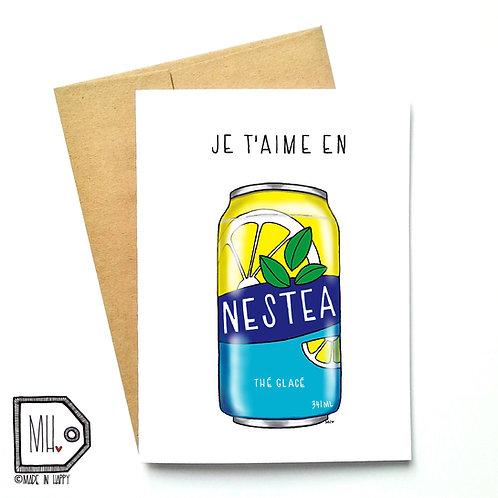 Je t'aime en Nestea