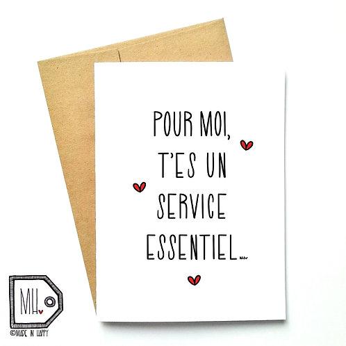 Service essentiel