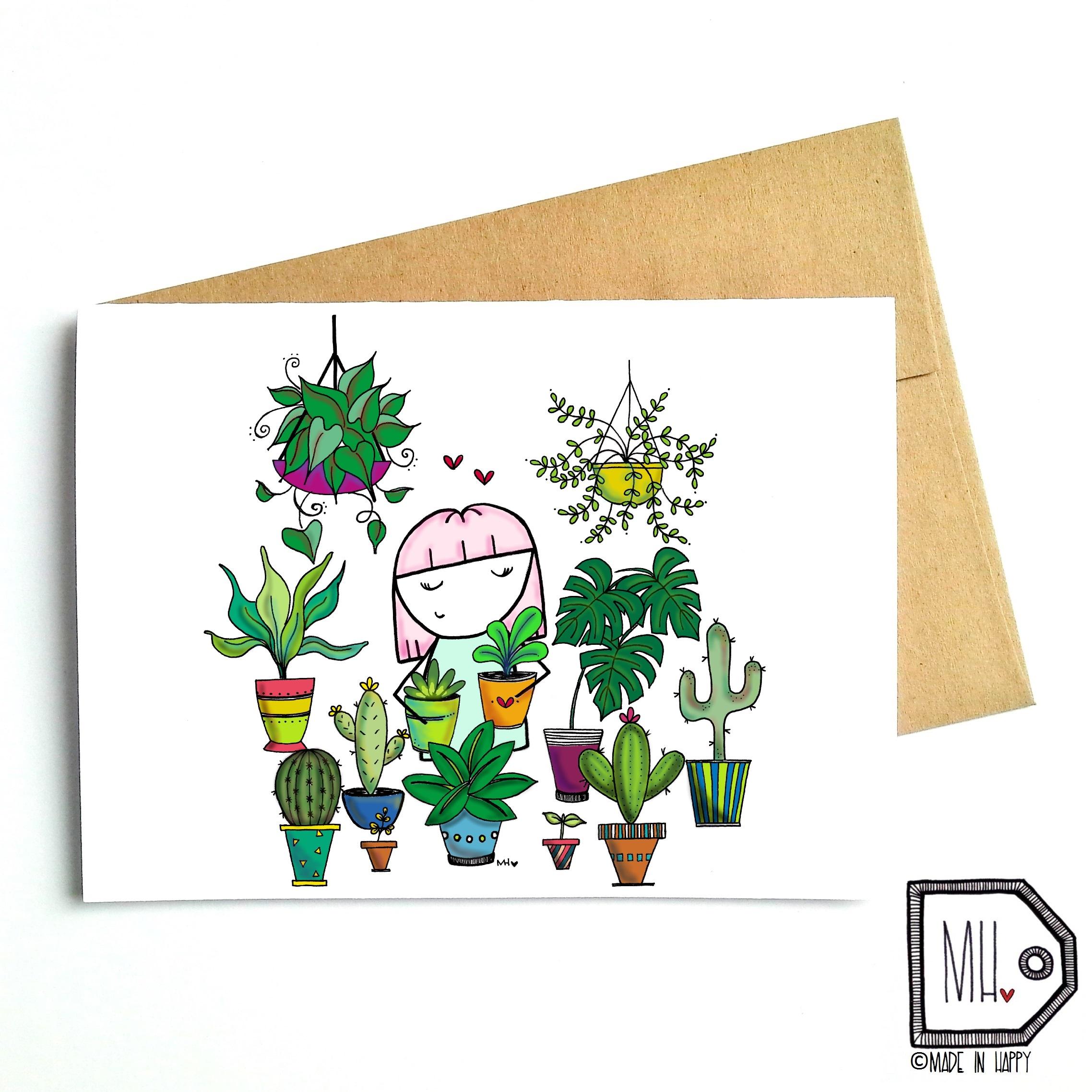 Plant lady | Dame aux plantes
