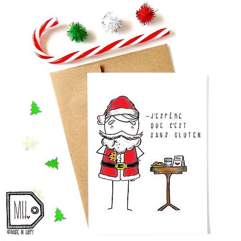 Père Noël sans gluten