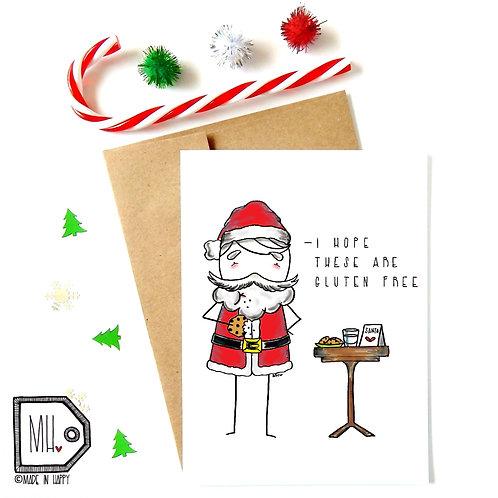 Gluten free santa