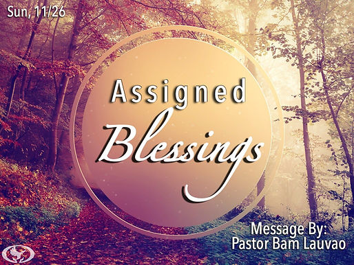 ASSIGNED BLESSINGS